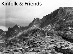 Kinfolk and Friends Panel 2 : Titcomb Basin, Wyoming, 2005